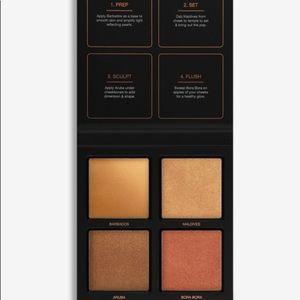 HUDA BEAUTY Makeup - 3D Highlighter Palette in Bronze Sands